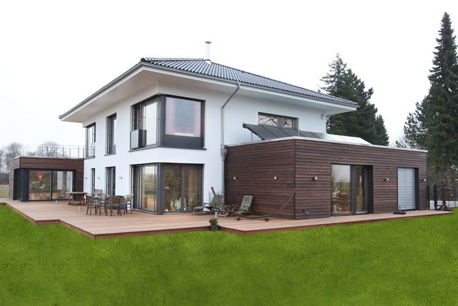 Neubau Als Dreiteiler Einfamilienhaus In Bielefeld Projekte