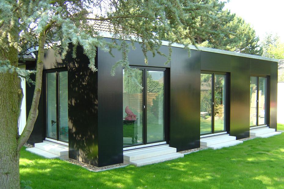 kubische kinderzimmer anbau in bad oeynhausen projekte architekten b kamp. Black Bedroom Furniture Sets. Home Design Ideas